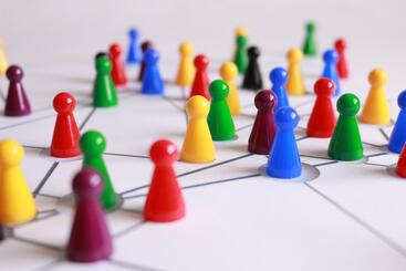 Salesforce lead assignment rules as colorful game pieces